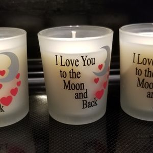 3 Soy candle Votives